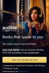Get Audible 3 Months Trail for Free Including 3 free Audio books