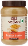 Amazon Brand – Solimo Natural Unsweetened Peanut Butter,1 kg