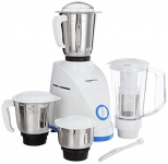 AmazonBasics Mixer Grinder with 3 Stainless Steel Jar + 1 Juicer Jar