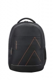 Aristocrat 27 Ltrs Black Casual Backpack