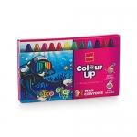 Rs.10 – Cello ColourUp Wax Crayons –  12 Shades