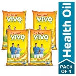 Fortune Vivo Oil, 1 L (Pack of 4) at Rs.439