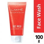 Lakme Blush and Glow Strawberry Gel Face Wash, 100g at Rs.108