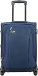 Skybags Footloose Napier Polyester 66 cms Blue Softsided Suitcase