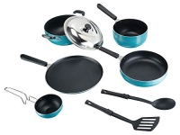 TOSAA Popular NONSTICK COOKWARE 8 PCS Gift Set Amber at Rs.1172